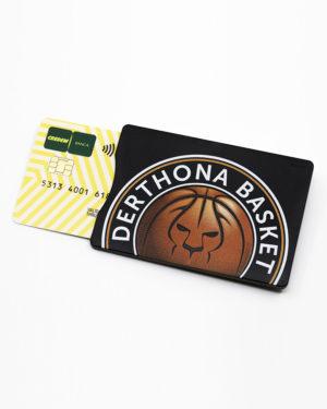 Porta carta di credito, gadget, Derthona Basket Store
