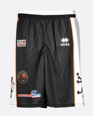 Calzoncini ufficiali da gara, nero, 2018-19 - Derthona Basket Store