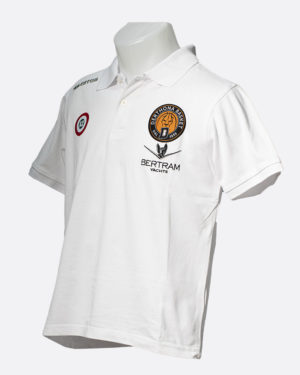 Polo Team Colour Bianco - Coppa Italia - Derthona Basket Store