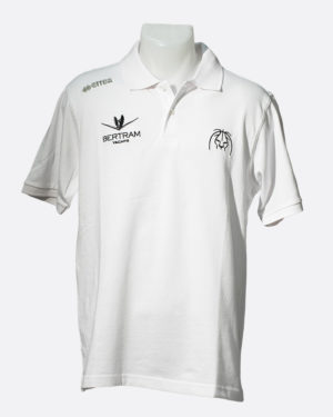 Polo Team Colour Bianco - Derthona Basket Store