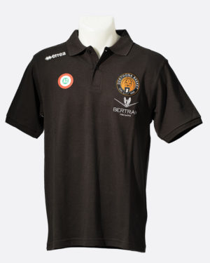 Polo Team Colour Nero - Coppa Italia - Derthona Basket Store