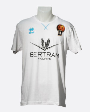 T-Shirt Professional Bianco - Derthona Basket Store